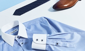 Tailors Mark: Maßgeschneidertes Hemd aus edlem Stoff für Damen oder Herren von Tailors Mark (bis zu 69% sparen*)