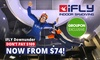 iFLY Downunder - Penrith: Indoor Skydiving Package for One ($74) or Two ($129) at iFLY Downunder, Penrith (Save Up to 40%)