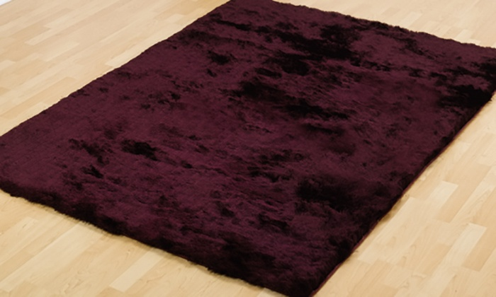 Shaggy Rug 6 Colours Groupon Goods