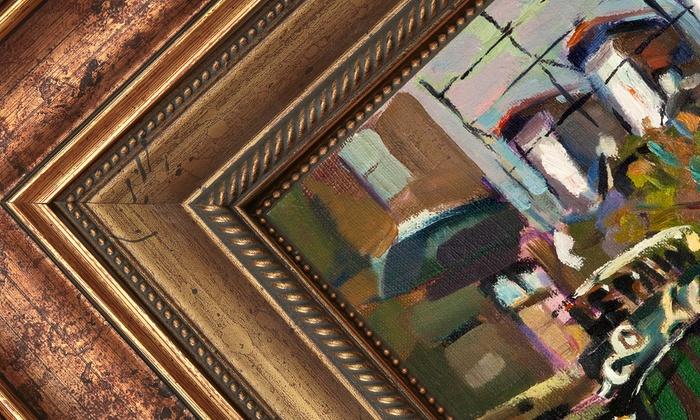 FrameStore - Multiple Locations: $35 for $100 Worth of Custom Framing at FrameStore