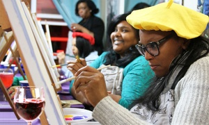 Paint and Chill: Class for One, Two, or Four at Paint and Chill (Up to 51% Off)