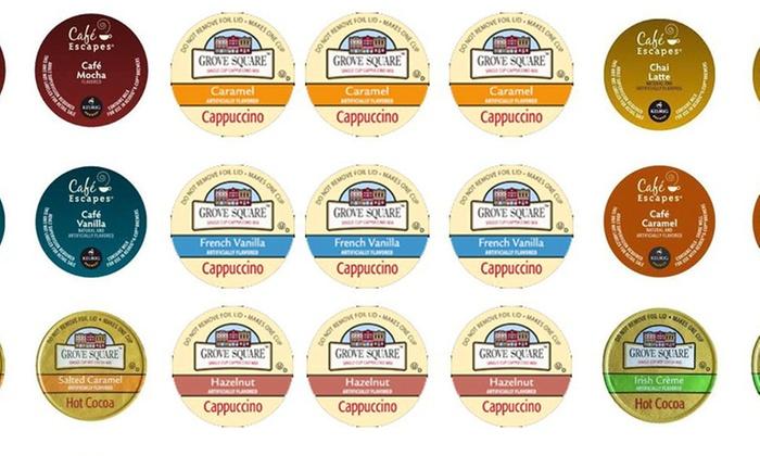 Single-Serve Drink Pods Decadence Sampler: 35-Pack Decadence Sampler of Single-Serve Beverage Pods