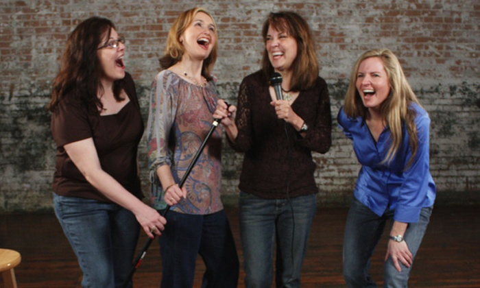 """Four Funny Females - Courtroom Theater: """"Four Funny Females"""" on Saturday, January 9, February 13, or February 27, at 8 p.m."""