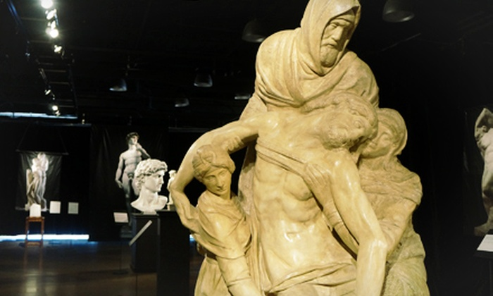 """""""Michelangelo"""" Exhibit - Central Business District: Michelangelo Exhibit for Two at Denver Pavilions (Up to $32 Value)"""