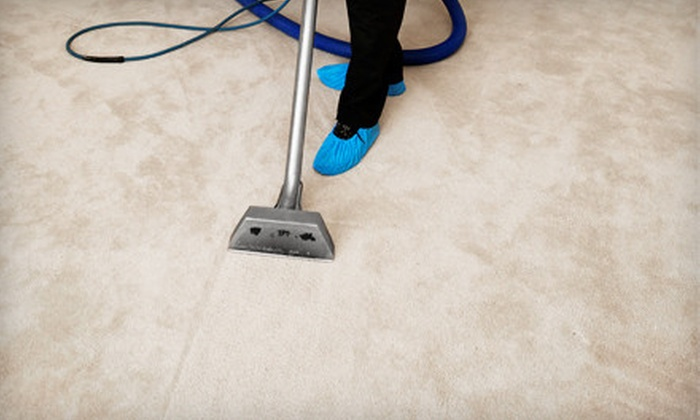 Sooner Steam Clean - Brookside: Carpet Cleaning for Three or Four Rooms from Sooner Steam Clean (Up to 60% Off)