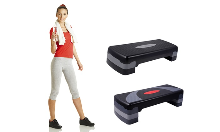 Fitness Aerobic Step Bench Groupon