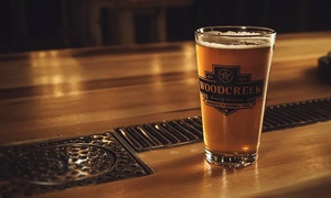 Woodcreek Brewing Company: Saturday Tour with Samples for Two or Four at Woodcreek Brewing Company (Up to 34% Off)