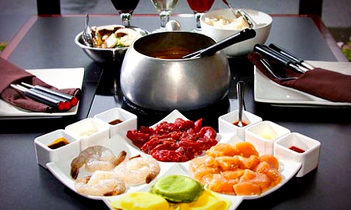 That Fondue Place - Edgewater: Large Cheese and Dessert Fondues for Two or Four at That Fondue Place (Up to 52% Off)