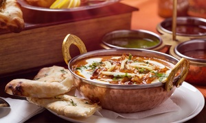 Indian Food at Curry Paradise (45% Off). Two Options Available.