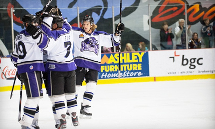 Fort Worth Brahmas - Nytex Sports Centre: $10 for Two to See Fort Worth Brahmas Hockey Game at Nytex Sports Centre on October 26 or 27 ($26 Value)