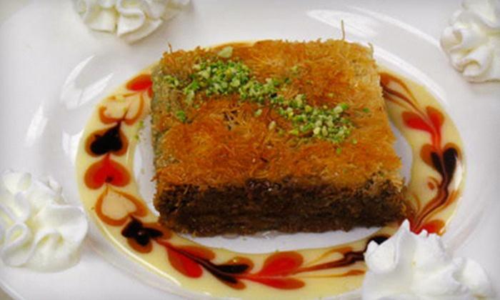 Mediterranea - Montclair: $32 for a Mediterranean Dinner for Two at Mediterranea (Up to $70.85 Value)