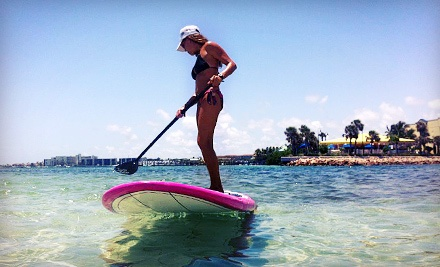 One 2-hour paddleboard or kayak rental