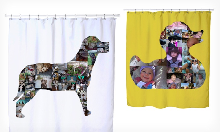 Custom Collage Shower Curtain: $49 for a Custom Collage Shower Curtain from Collage.com ($150 List Price). Free Shipping.