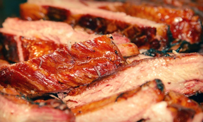 H&D BBQ & Grill - Arapaho: Dinner or Lunch at H&D BBQ & Grill (Half Off)