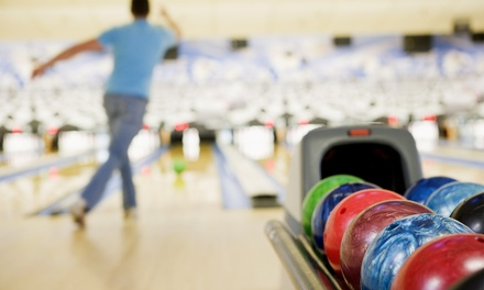 Bowling for Six with or Without Pizza and Soda at Rule 3 (55% Off)