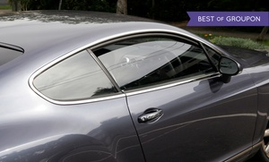 Elite Auto Detailing: Car Window Tinting at Elite Auto Detailing (Up to 58% Off). Four Options Available.