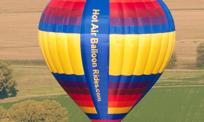 Gentle Breeze Hot Air Balloon Co. - Gentle Breeze Hot Air Balloon Co.: $149 for Shared Hot Air Balloon Ride from Gentle Breeze Hot Air Balloon Co. (Up to $279 Value)