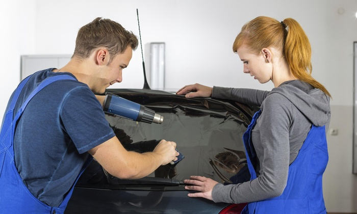 Rapid Window Tinting Service - Los Angeles: On-Location Window Tinting for a Car from Mobile Rapid Window Tinting La (45% Off)