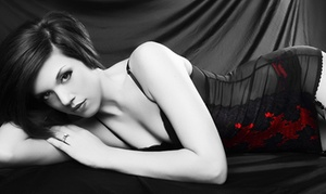 "Glamour Shots Photo: $19 for Boudoir Shoot With Wardrobe Change, Makeup, 8""x10"" Portrait and CD Slideshow at Glamour Shots Photo ($409 Value)"