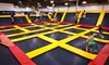 Up to 34% Off Trampoline-Park Admission at Sky High Sports