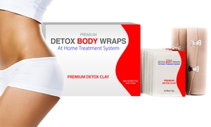 MyBeautySecretsUSA: $24.99 for a Two-Pack of Slim n' Sleek Detoxifying Body Wraps from MyBeautySecretsUSA  ($99 Value)