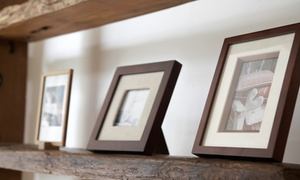 Main Frame Shops: Custom Framing at Main Frame Shops (55% Off). Two Options Available.