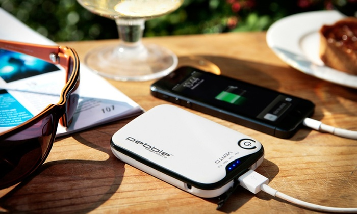Veho Pebble Verto 3,700mAh Portable Battery Charger: Veho Pebble Verto 3,700mAh Portable Battery Charger. Multiple Colors Available. Free Returns.