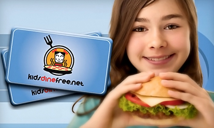 KidsDineFree.net: One or Two Kids Dine Free Cards, Valid for Three Months from KidsDineFree.net (Up to 50% Off)