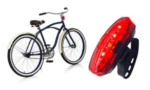 Éclairage vélo USB