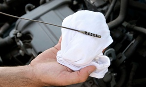 Starting Line: One or Three Oil-Change Packages with Multipoint Inspections and Tire Rotations at Starting Line (Up to 63% Off)