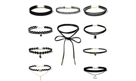 One (AED 59) or Two (AED 89) 10 Piece Choker Sets