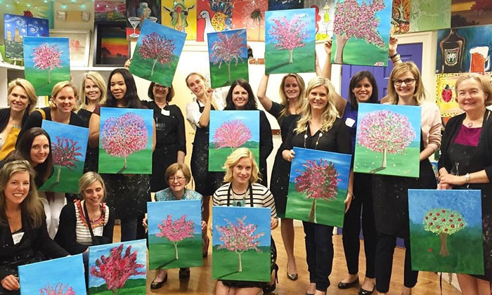 Wine and Design- Syosset, NY - Syosset: BYOB Painting Class at Wine and Design (Up to 38% Off). Two Options Available.