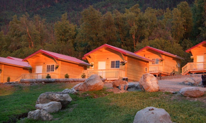 Knik River Lodge - Knik Glacier, AK: $99 for a One-Night Stay for Two in a Superior Cabin at Knik River Lodge (Up to $215 Value)
