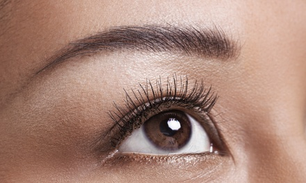 Eyelash Extensions at Dermaluxe (Up to 71% Off). Two Options Available.
