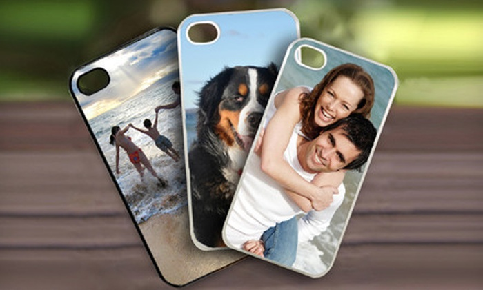Picture it on Canvas **NAT**: One or Three Custom iPhone Cases or a Custom iPad Case from Picture It On Canvas with Shipping Included (Up to 64% Off)