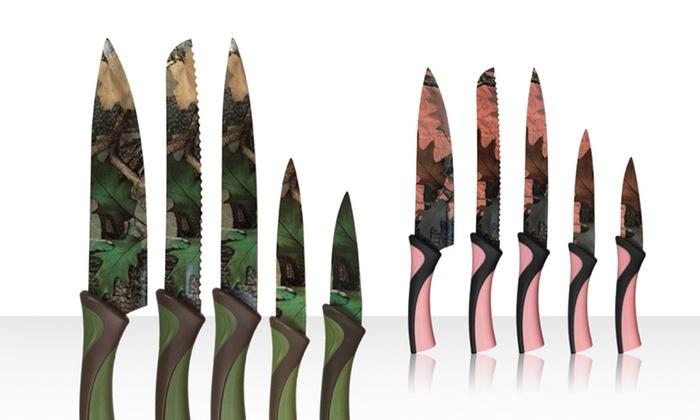 camo kitchen knives - creepingthyme