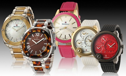 Bernoulli Men's and Women's Watches. Multiple Styles Available from $24.99–$39.99. Free Returns.