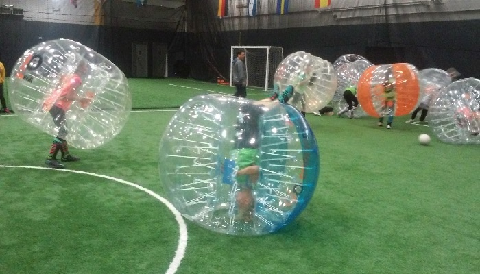 Maximum Sports Center - Ramsey: One Hour of Indoor Bubble Soccer for up to 15 with Referee at Maximum Sports Center (Up to 57% Off)