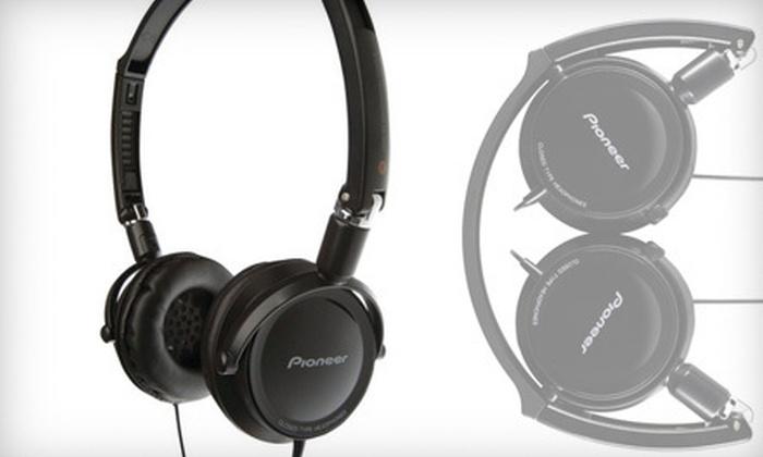 Elijah Creations: $25 for Pioneer Loop On-Ear DJ-Inspired Stereo Headphones ($69.99 List Price). Free Shipping.