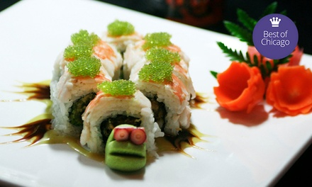 $22 for $40 Worth of Sushi and Contemporary Grill Cuisine at Swordfish
