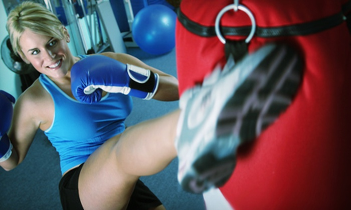 Xtreme Fitness - Green: 10 Cardio-Kickboxing Classes or a Six-Month Membership with Unlimited Classes at Xtreme Fitness (Up to 65% Off)