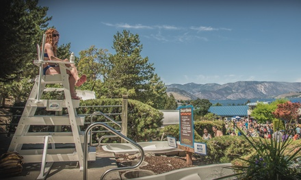 Two or Four Passes with Food or Souvenirs Discount at Slidewaters Lake Chelan Waterpark (Up to 25% Off)