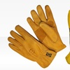 3 Pairs of Genuine Cowhide Leather Gloves