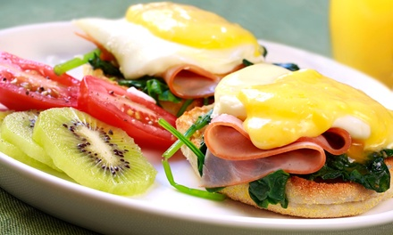American Breakfast or Lunch for Two at Diner-By-The-Sea (Up to 53% Off)