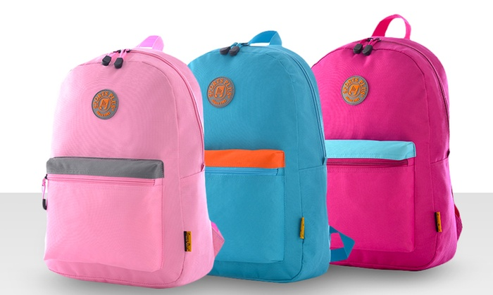 Olympia Princeton Backpack: Olympia Princeton Backpack in Black, Pink, Purple, or Teal. Free Returns.