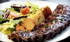 Purple Olive Grill - West End: Three-Course Dinner for Two, Valid Sunday–Thursday or Friday–Saturday at Purple Olive Grill (Up to 51% Off)