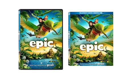 Epic on DVD or Blu-ray/DVD/Digital HD Combo 5540c684-ee25-11e6-9ca8-00259069d7cc