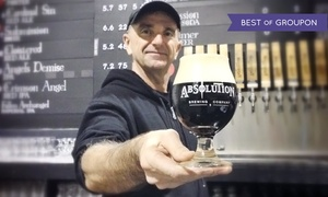 Absolution Brewing Company: Beer Tasting for Two or Four at Absolution Brewing Company (Up to 43% Off)