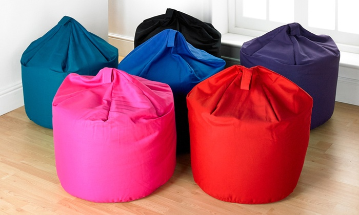 Fantastic Cotton Bean Bag Groupon Goods Uwap Interior Chair Design Uwaporg