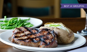 Steak Loft: $28 for $50 Worth of Steakhouse Cuisine for Two or More at Steak Loft